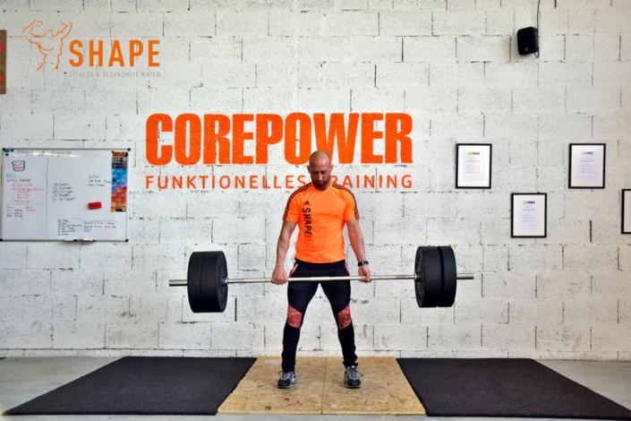 Kreuzheben im Corepower Bereich