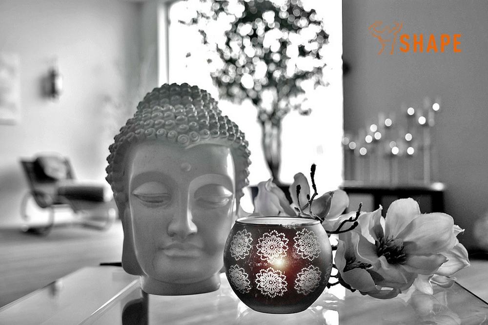der Buddha in unserem Ruheraum