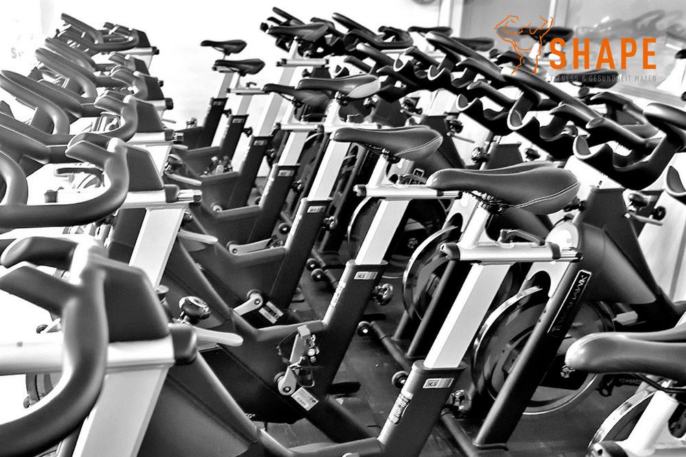 die Indoor Bikes für unsere Indoor Cycling Kurse